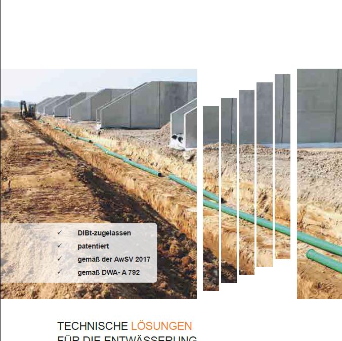 Broschüre: Techn. Lösungen für die Entwässerung in der Landwirtschaft