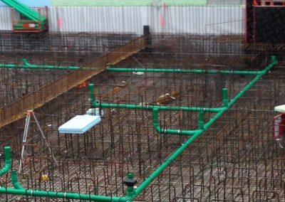 Fundamentleitung  Neubau Büro- und Lagergebäude