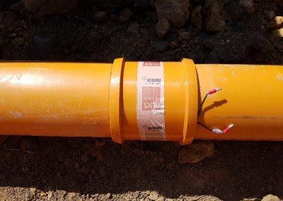 Wurzelschutz in Kommunaler Abwasserleitung