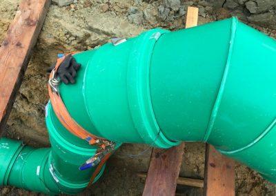 Abwasser Verbindungsleitung DN 500