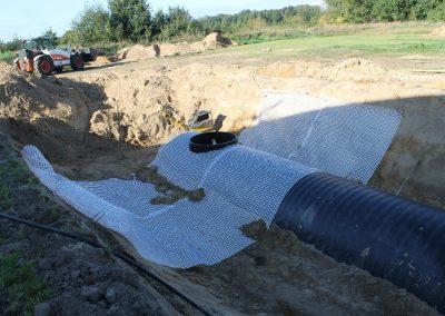 JGS Behälter 40 m³ mit Auftreibssicherung